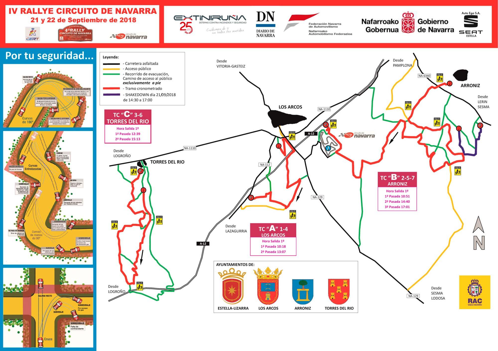 Circuito Navarra : Avance iv rally de tierra circuito de navarra federación